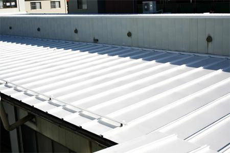 屋根塗装工事完了-ペンキ後